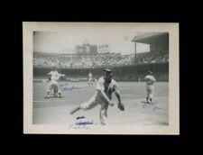ca. 1949-50 *** BOB FELLER & EARLY WYNN ** Snapshot Photo Cleveland Indians HOF