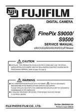Fujifilm FinePix S9000/9500 Servizio Riparazione Manuale