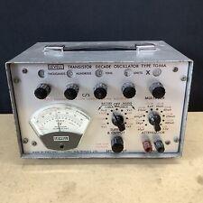 Levell Transistor Decade Oscillator Type TG66A - Untested