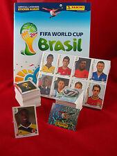 Panini WM 2014 Satz komplett + Softcover Album + Update + Balanta Sticker WC 14