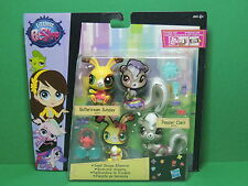 #3771 Buttercream Sunday 3772 Pepper Clark figurine LPS Littlest Pet Shop Figure