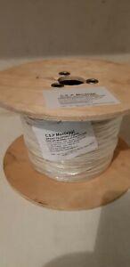 Cavo in fibra ottica con certificazione open fiber 500mt 2,6mm monofibra bianco