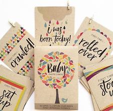 RhiCreative Baby Milestone Photo Cards Baby Keepsake Baby Shower Newborn Gift