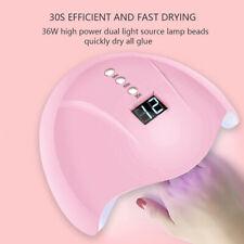 36W Nail Art USB Nail Lamp UV 12 led Light Nail Gel Dryer Curing Polish Mach fc