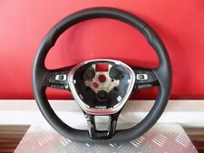 5TA419091A STEERING WHEEL LEATHER LENKRAD LEDER MULTIFUNCTION VW TIGUAN TOURAN