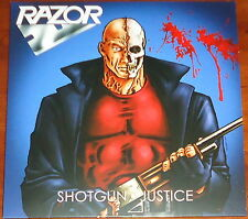 Razor - Shotgun Justice LP - Black Vinyl / Ltd Edition/ (2014) Metal Thrash