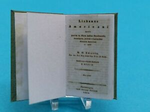 1:12 Scale Book, Lichens of North America 1811, crafted by K.B