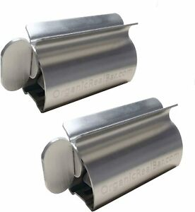 Toothpaste Tube Squeezer - Stainless Steel Metal Tube Wringer Toothpaste Squeeze