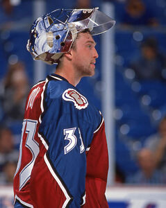 1996 Colorado Avalanche PATRICK ROY Glossy 8x10 Photo Hockey Print Poster