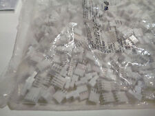 Tec 4 Pos, Connector, Receptacle, 24Awg .100 White w/ Cap (50 Pieces) - New