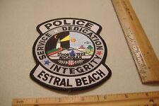~ESTRAL BEACH~MICHIGAN POLICE PATCH~
