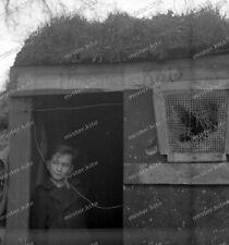 negativ-Westwall-Trier umgebung-1940-Knabe-cute Boy-Junge-Bunker-Hummel
