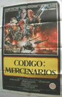 Filmplakat,Plakat,CODIGO,MERCENARIOS,LEWIS COLLINS,E BORGNINE,KLAUS KINSKI#135