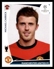 Panini Champions League 2009-2010 Michael Carrick Manchester United FC No. 84
