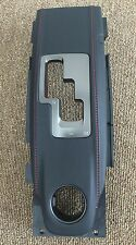 NISMO GT-R R35 GTR SHIFTER SHIFT GATE CENTER CONSOLE RED STITCH for NISSAN OEM