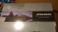 CHRONICLE BOOKS STAR WARS EPISODE 1  ARTWORK DOUG CHIANG SEALED & OUTER BOX