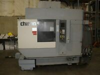 Chiron FZ-12WV CNC Mill Funuc 21I Twin Pallet, Video