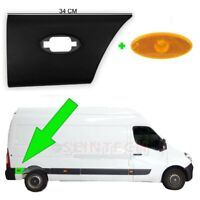 Vauxhall Movano Plastic Protective Side Moulding Strip Door Trim RIGHT O/S 2010+