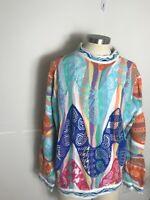 Vintage 90s COOGI Australia Cosby BIGGIE Sweater Size Xl