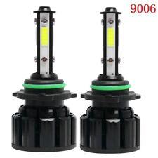 2X 4-Side 9006 HB4 100W 20000LM  LED Headlight Bulb Low Beam Fog light 6000K