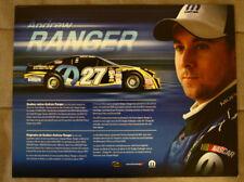 ANDREW RANGER DODGE MOPAR NASCAR Pinty's Series Canada 2017 brochure