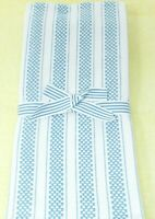 """Kitchen Towels 4 Pack dish hand 18 x 28"""" Light Blue Gray and White Stripe"""