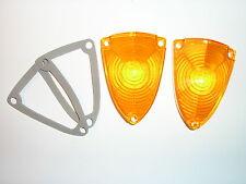 1964 Dodge Polara Front Park Light Turn Signal Lenses mopar lamp parking lens