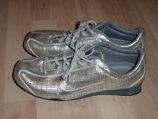 Nike Shox Rival Silber Leder US 8,5 EUR 42