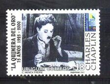 URUGUAY 2000 CHARLES CHAPLIN CINEMA FILM Yv 1893 Mi 2531 MNH
