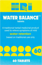 2 x HRI Water Balance 60 Tablets **For Water Retention**
