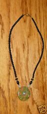 BEAUTIFUL VINTAGE 1970-80's HEMATITE NECKLACE w/ STONE