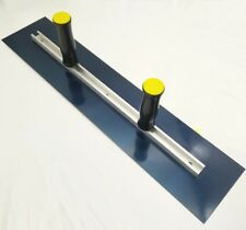 Two-handed Steel Plastering Finishing Trowel Blade Spatula Tool