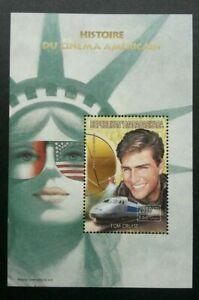 [SJ] Madagascar Tom Cruise 1999 USA Liberty Movie Actor Train Locomotive (ms MNH
