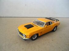 Matchbox Models Of Yesteryear Ford Mustang Boss 429 In Orange , 1:43 Scale