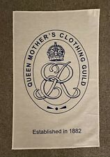Queen Mother's Clothing Guild Tea Towel