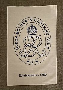 Queen Mother's Clothing Guild Tea Towel