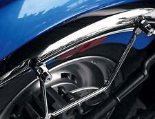 Paire d'écarteurs universel pour sacoche cavalière (2 trous) pour moto custom