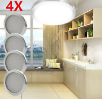 4X12V Cool White Caravan Camper Trailer Car Boat LED Down Light Ceiling Lamp