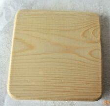 Basket Weaving Supplies Wood Slotted Bases Bottom 5 inch Square