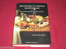 Livre de cuisine Methode MONTIGNAC / Recette et Menus Gastronomie nutritionnelle