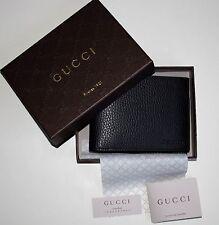 Gucci señores original monedero Cartera regaIan negro 278596