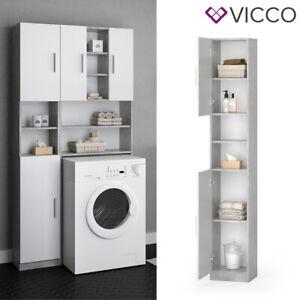 Armadio complementare VICCO LUIS scaffale per lavatrice mobile da bagno armadio