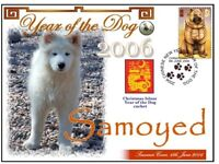 SAMOYED CHINATOWN YEAR OF THE DOG STAMP COVER 3