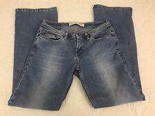 Express Women's Denim Blue Jeans Size 8 Short Boot Cut