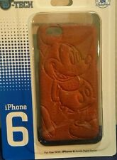 Disney Parks D-tech Leather Mickey Design iPhone 6 Cell Case NEW
