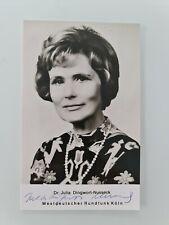 Julia Dingwort-Nusseck ## Originalautogramm handsigniert ## RARITÄT