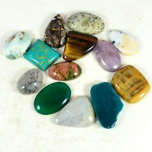 239.00Ctw Wholesale Mixed Lot Gemstone Natural agate jasper Turquoise quartz