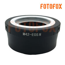 M42-EOS M Adapter for M42 Screw Mount Lens to Canon EF-M M1 M2 Mirrorless Camera