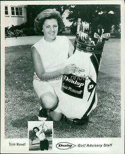 1960s Susie Maxwell LPGA Golf Champion Original News Service Photo