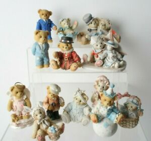 Collection Of Cherished Teddies Figurines Job Lot